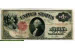 70452 - 1 Dollar Washington rouge