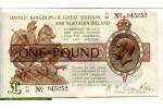 70453 - 1 Pound Portrait Geoges V    PROMO    *     *    *