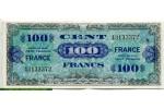 71100 - 100 FRANCS Verso