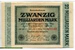 71197 - 20 Milliarden Mark Uniface Vert   *    *    PROMO