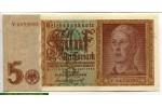 71200 - 5 Reichsmark Portrait jeune Homme   7 Chiffres
