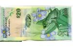 71260 - 20 Dollars Grenouille & Eglise St Mark's