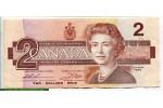 71291 - 2 Dollars Elizabeth II & Oiseaux    *     *    *    *