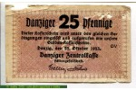 71321 - 25 Pfennige (Manque Marge Superieure Gauche)   RARETE