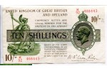 71347 - 10 Shillings Georges V Sig:Fischer K92 PROMO