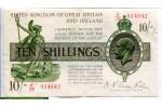 71359 - 10 Shillings Georges V Sig:Fischer J38 PROMO