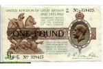 71364 - 1 Pound Georges V   E1/83