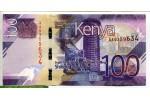 71461 - 100 Shilings M.J Kenyatta & Animaux Maîs (Superbe Billet)