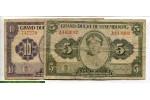 71473 - Lot de 2 Billets 5 & 10 Frs Princesse Charlotte