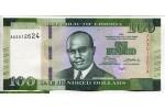 71481 - 100 Dollars William R.Tolbert Jr    NOUVEAUTE    *   *