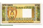 71574 - 1250 Echantillon SPECIMEN Filigranne Antilope  Superbe Billet   *    *