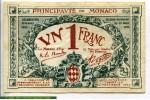 71582 - 1 Franc Bleu  Série  C   N°423638