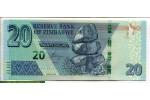 71643 - 20 Dollars Roche de Chiremba   & Eléphants    NOUVEAUTE