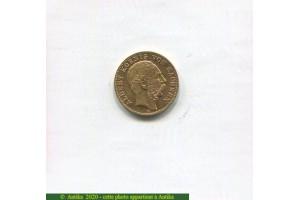 73021 - 10 MARK Köenig ALBERT Von Sachsen   3,99 gr