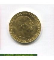 73026 - 100 CORONA FRANCOIS JOSEPH  33,92 gr  Refrappe