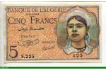 73086 - 5 FRANCS Jeune Musulmane