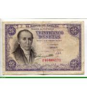 73101 - 25 Pesetas Florez Estrada
