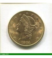 73186 - 20 DOLLARS LIBERTY 33,43 gr  San Francisco