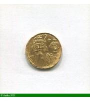 73218 - SOLIDUS Constantinople R/ HERACLIUS & TIBERE  Trace de monture S/tranche 4,42 gr
