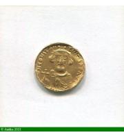 73220 - SOLIDUS Constantinople  7ème Officine Trace de monture S/tranche  4,45gr