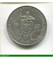 73226 - 5 REICHSMARK Argt Anniversaire Rhénanie D:Munich