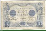 73853 - 5 FRANCS BLEU - Type 1905