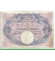 73871 - 50 FRANCS BLEU & ROSE - Type 1889