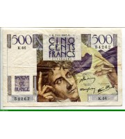 73891 - 500 FRANCS CHATEAUBRIAND - Type 1945