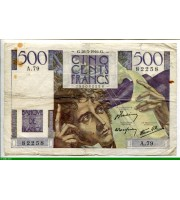 73892 - 500 FRANCS CHATEAUBRIAND - Type 1945