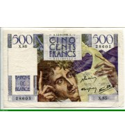 73893 - 500 FRANCS CHATEAUBRIAND - Type 1945