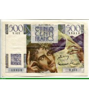 73894 - 500 FRANCS CHATEAUBRIAND - Type 1945