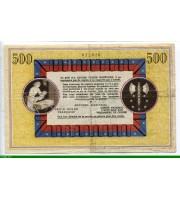 73945 - 500 Francs