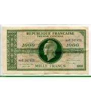 73952 - 1000 FRANCS (Marianne)chiffres maigres