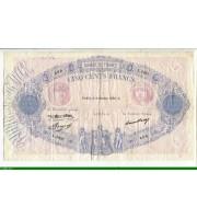 73959 - 500 FRANCS BLEU &  ROSE - Type 1888