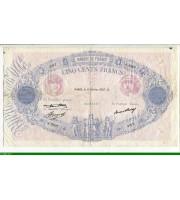 73960 - 500 FRANCS BLEU &  ROSE - Type 1888