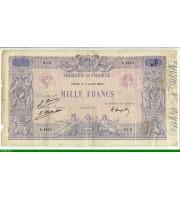 73964 - 1000 FRANCS BLEU & ROSE - Type 1889