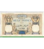 73967 - 1000 FRANCS CERES & MERCURE - Type 1927