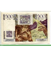 74025 - 500 FRANCS CHATEAUBRIAND - Type 1945