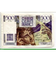74026 - 500 FRANCS CHATEAUBRIAND - Type 1945