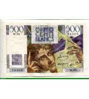 74029 - 500 FRANCS CHATEAUBRIAND - Type 1945