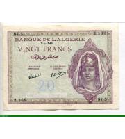 74066 - 20 FRANCS Jeune femme