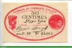 74072 - 50 Centimes Chambre de Commerce ALGER