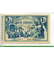 74077 - 1 FRANC Chambre de Commerce  BONE