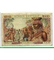 74080 - 1000 FRANCS Marché Africain